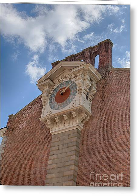 Phillies History Greeting Cards - Independence Hall Clock Greeting Card by Kay Pickens