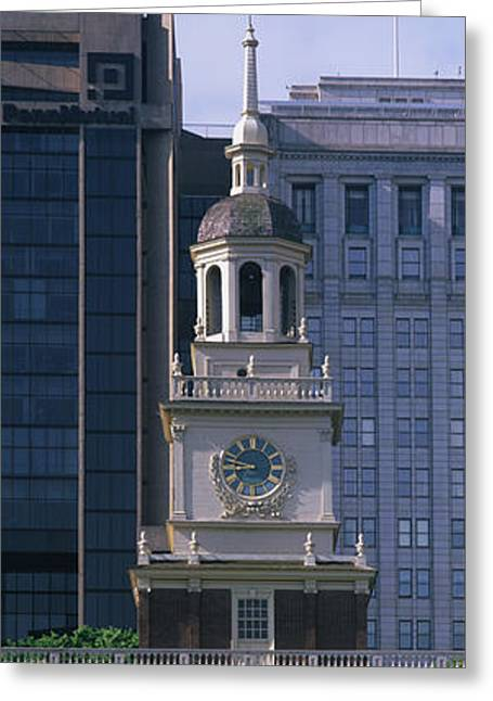 18th Century Greeting Cards - Independence Hall Pa Greeting Card by Panoramic Images