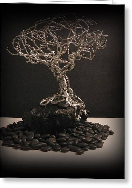 Office Sculptures Greeting Cards - Independence Greeting Card by Joyce  McCormick-Mabry