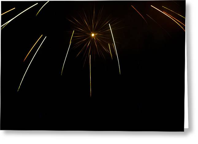 Independence Star I Greeting Card by Ben K