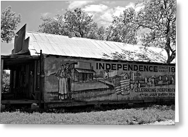 Historic Country Store Greeting Cards - Independence Greeting Card by Stephen Stookey