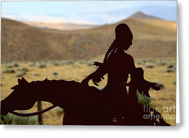 Sculpture Indians Photographs Greeting Cards - Indian Heritage Greeting Card by Sophie Vigneault