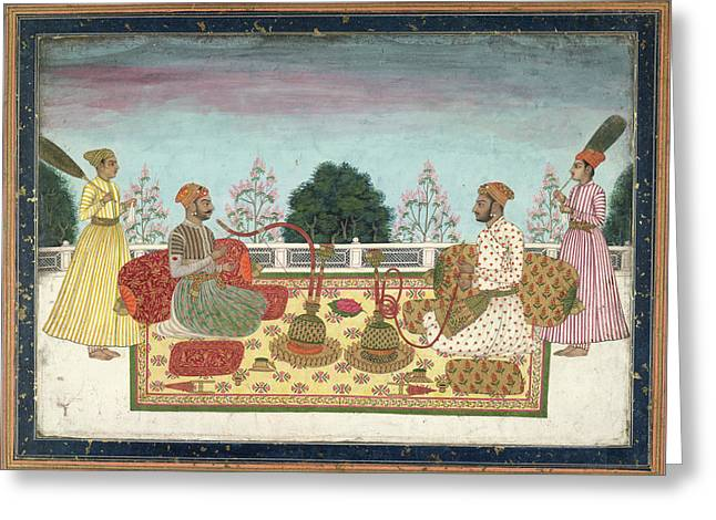 Indian Rajas Greeting Card by British Library