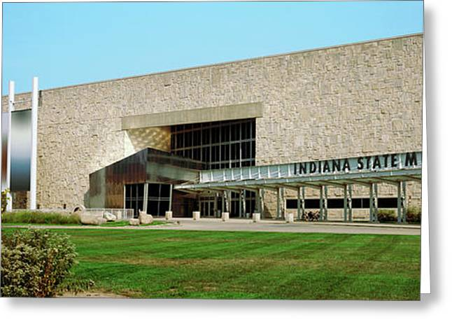 Indiana State Museum, White River State Greeting Card by Panoramic Images