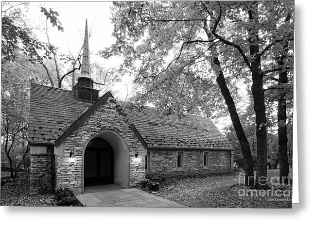 Indiana University Beck Chapel Greeting Card by University Icons