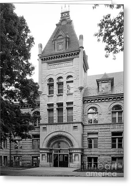 Indiana University Kirkwood Hall Greeting Card by University Icons