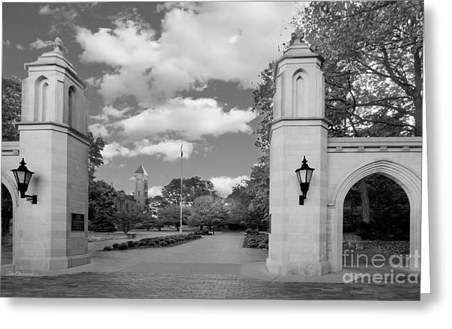 Indiana University Sample Gates Greeting Card by University Icons