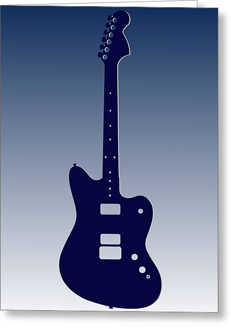 Concert Bands Photographs Greeting Cards - Indianapolis Colts Guitar Greeting Card by Joe Hamilton