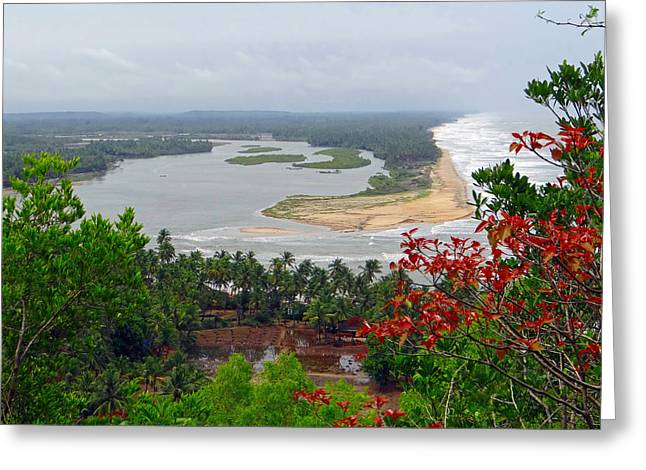 Beach Vista Greeting Cards - Indias Natural Beauty Greeting Card by Mountain Dreams