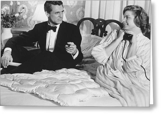 1950 Movies Greeting Cards - Indiscreet  Greeting Card by Silver Screen