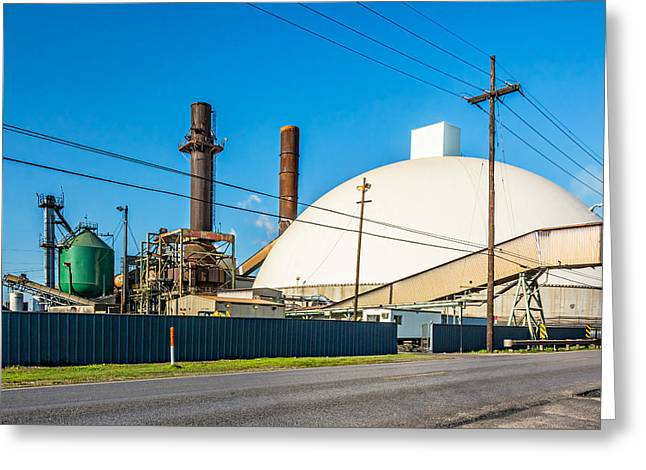 Manufacturing Greeting Cards - Industrial Art 2 Greeting Card by Steve Harrington