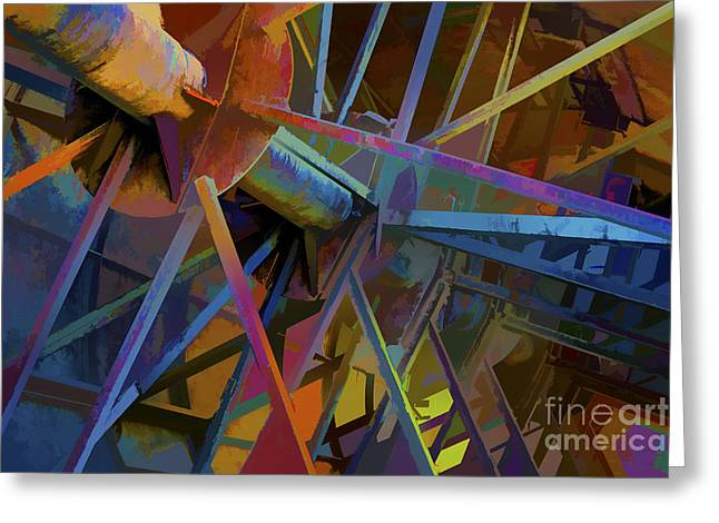Industrial Light And Magic Greeting Card by Gary Holmes