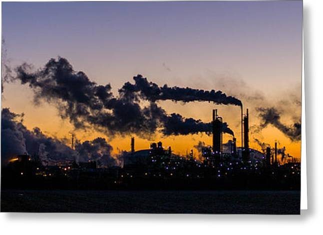 Petro Chemical Greeting Cards - Industry Greeting Card by Tom Ramsey