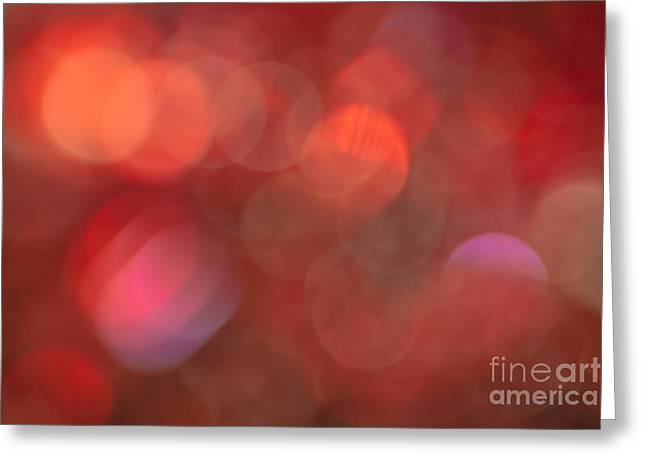 Vivid Colour Greeting Cards - Inferno Greeting Card by Jan Bickerton