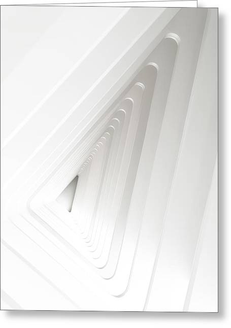 Subtle Greeting Cards - Infinite Arches Greeting Card by Scott Norris