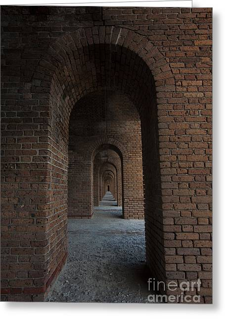 Interior Scene Photographs Greeting Cards - Infinite ArchS Greeting Card by Keith Kapple