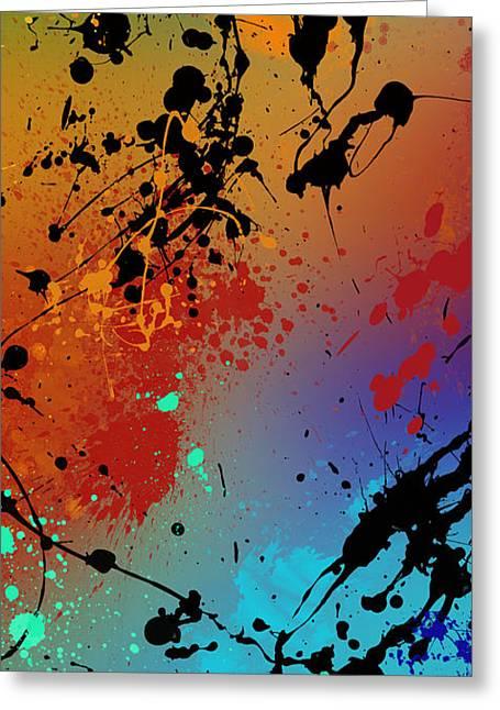 Top Seller Greeting Cards - Infinite M Panel #2 Greeting Card by Ryan Burton