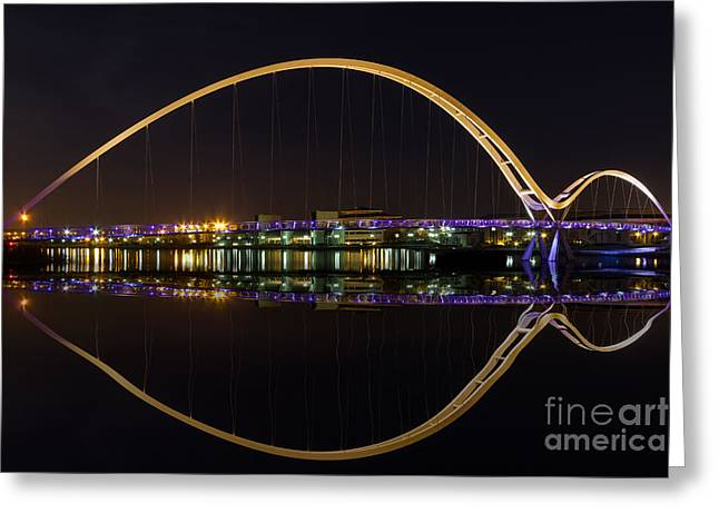 Stockton Greeting Cards - Infinity Bridge Greeting Card by Bahadir Yeniceri