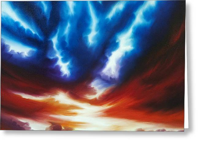 Copyrighted Greeting Cards - Infinity Greeting Card by James Christopher Hill