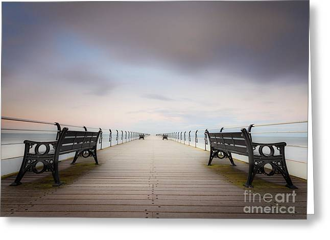 Unwind Photographs Greeting Cards - Infinity Greeting Card by John Potter