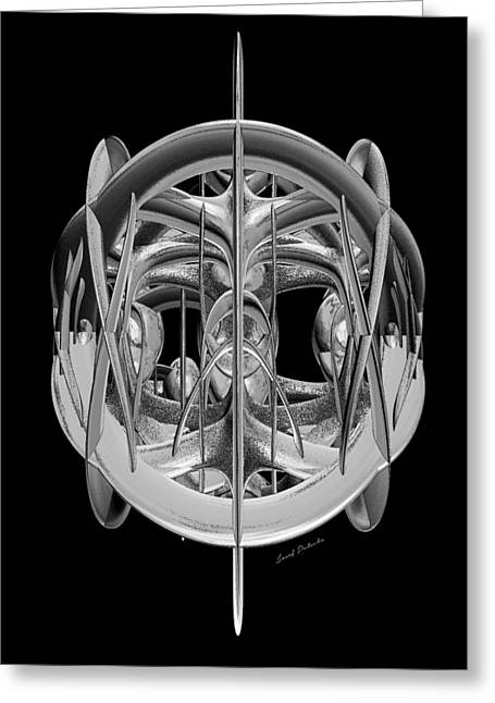 Abstract Style Greeting Cards - Infusion 234 Greeting Card by Sir Josef  Putsche Social Critic
