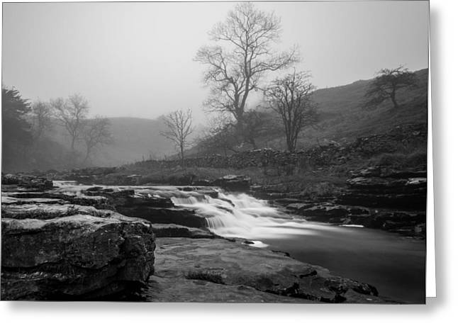 Tranquil Greeting Cards - Ingleton Waterfall Trail. Greeting Card by Daniel Kay
