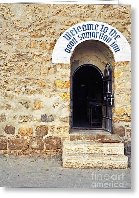 Inn Of The Good Samaritan Greeting Card by Thomas R Fletcher