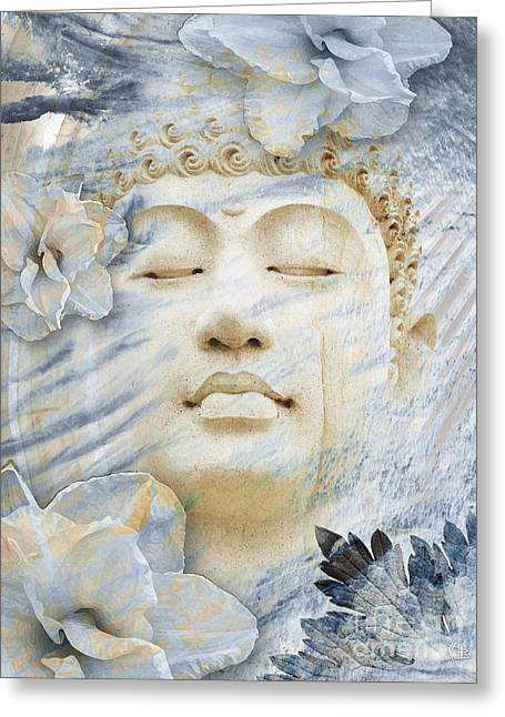 Modern Buddhist Art Greeting Cards - Inner Infinity Greeting Card by Christopher Beikmann