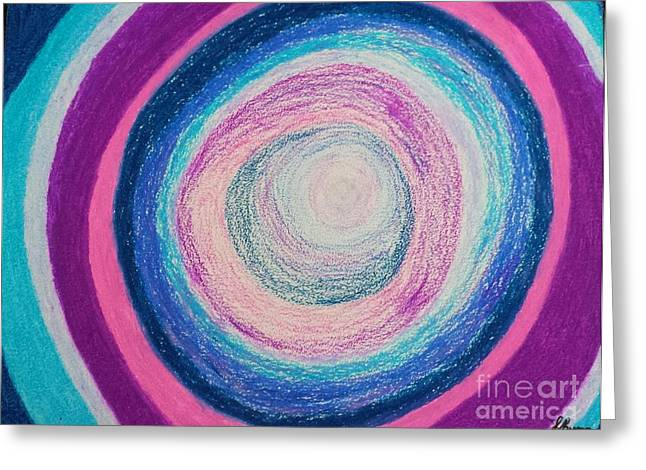 Portal Pastels Greeting Cards - Inner Portal Greeting Card by Lisa Byrne