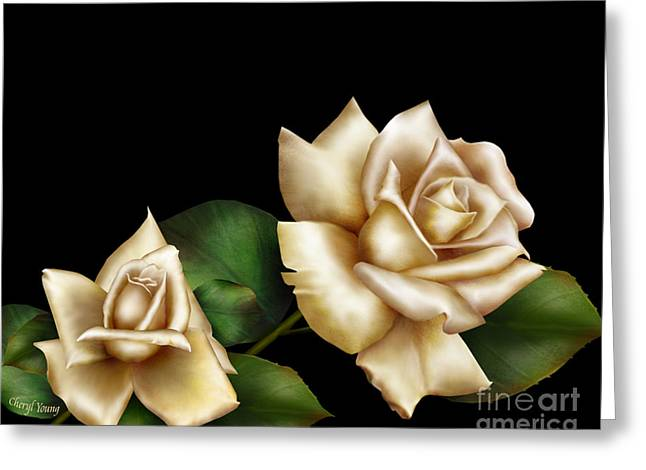 Reverence Greeting Cards - Innocence Greeting Card by Cheryl Young