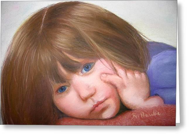 Innocence Pastels Greeting Cards - Innocence Greeting Card by Reta Haube