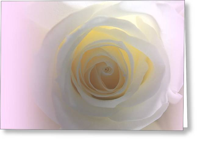 Innocent Love Greeting Card by  The Art Of Marilyn Ridoutt-Greene