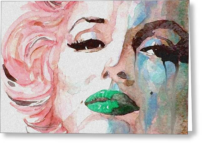 Insecure  Flawed  but Beautiful Greeting Card by Paul Lovering