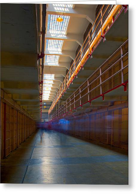 Alcatraz Greeting Cards - Inside Alcatraz Greeting Card by James O Thompson