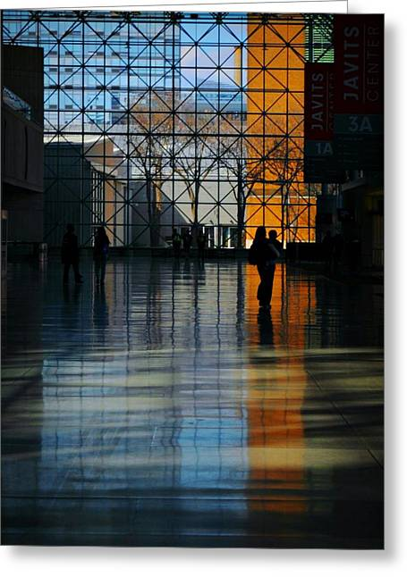 Midtown West Greeting Cards - Inside and Out Greeting Card by Diana Angstadt