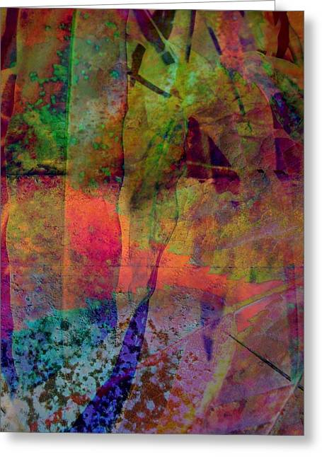 Subdued Hues Greeting Cards - Inside Autumn Greeting Card by Shirley Sirois