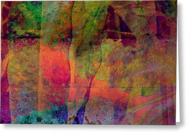 Inside Autumn Greeting Card by Shirley Sirois
