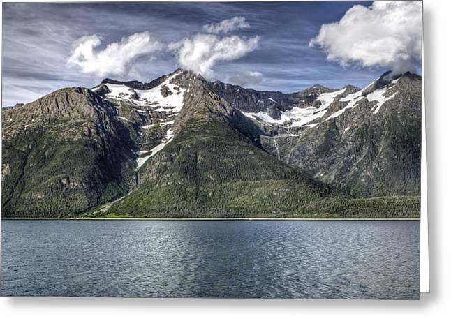 Historic Home Greeting Cards - Inside Passage of Alaska Greeting Card by Todd Hughes