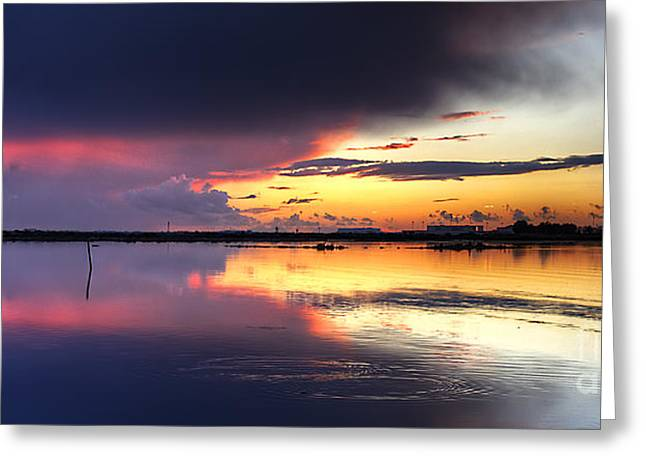 Rio Formosa Greeting Cards - Inside The Storm Greeting Card by English Landscapes