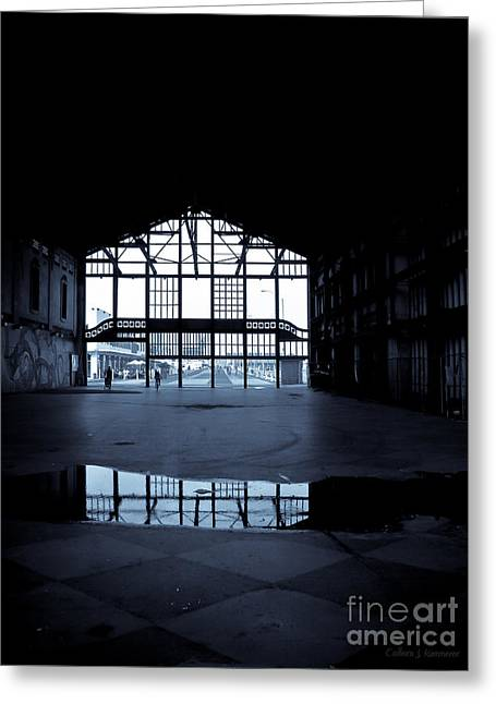 Asbury Park Jersey Shore Architecture Greeting Cards - InsideOut Greeting Card by Colleen Kammerer