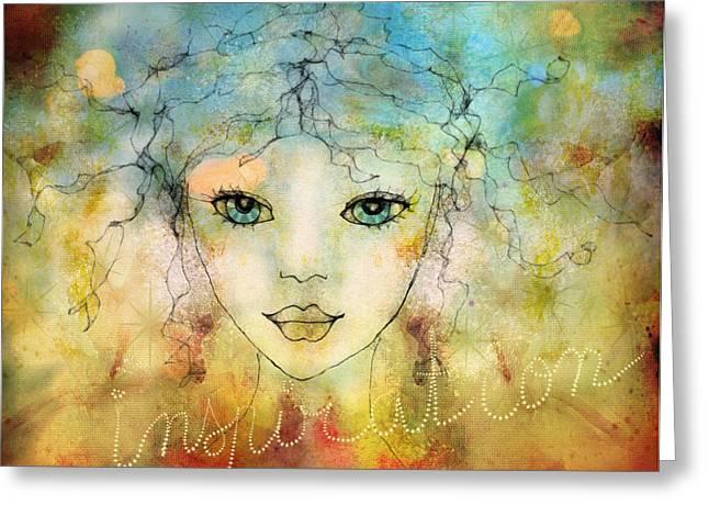 Barbara Orenya Greeting Cards - Inspiration Greeting Card by Barbara Orenya