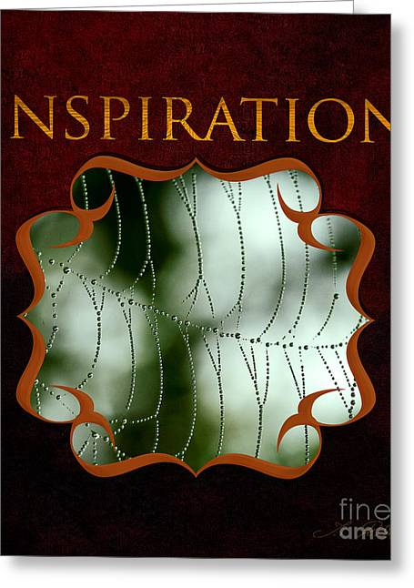 Do Something Greeting Cards - Inspirational Gallery Greeting Card by Iris Richardson