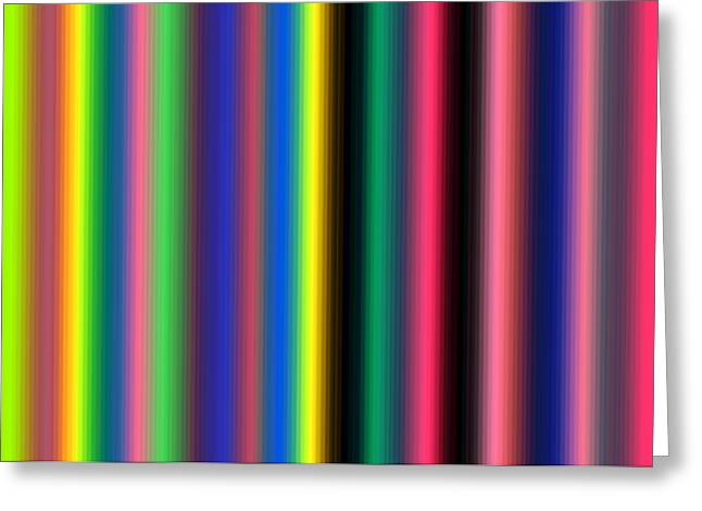 Component Digital Art Greeting Cards - Inspired By Hub 06 Greeting Card by Revad David Riley