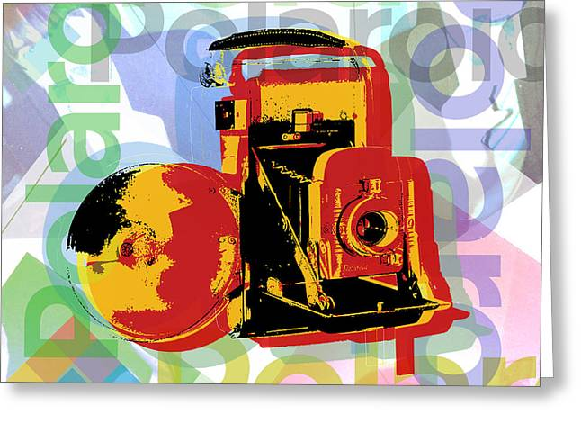 Instant Camera Greeting Cards - Instant camera - Polaroid camera Greeting Card by Jean luc Comperat