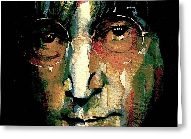 Instant Karma Greeting Card by Paul Lovering