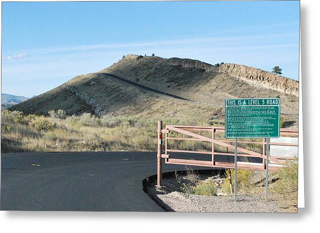 Fort Collins Greeting Cards - Intense Climb Greeting Card by Alex Hendricks