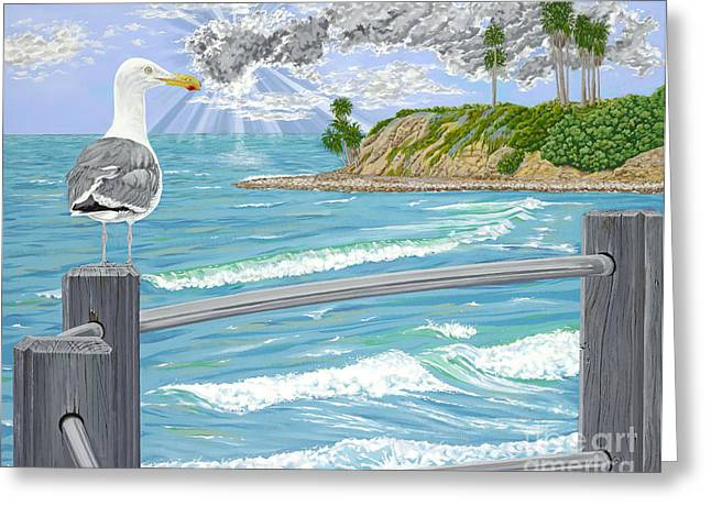 Sea With Waves Greeting Cards - Intensity Greeting Card by John Wilson