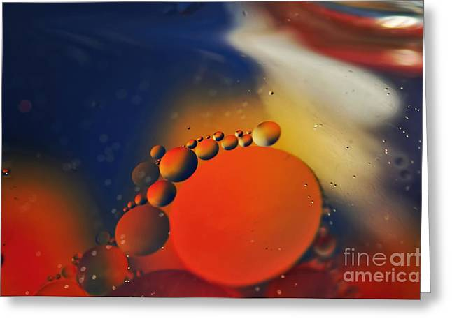 Intergalactic Greeting Cards - Intergalactic Space 2 Greeting Card by Kaye Menner