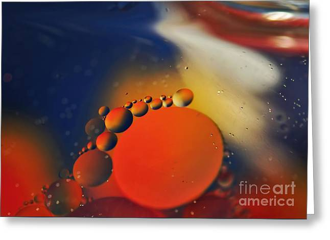 Intergalactic Space 2 Greeting Card by Kaye Menner