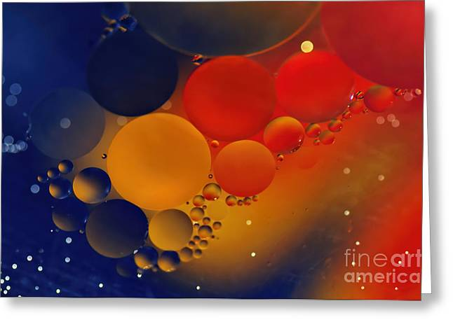 Intergalactic Greeting Cards - Intergalactic Space 3 Greeting Card by Kaye Menner
